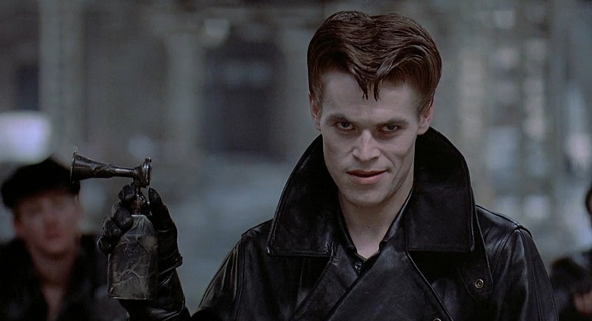 Willem Defoe in Streets of Fire