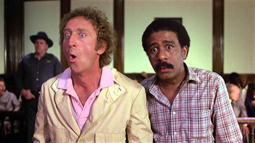 Gene Wilder and Richard Pryor in Stir Crazy